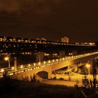 LRT Bridge 3 Sepia