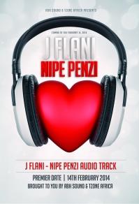 J Flani Nipe Penzi Poster