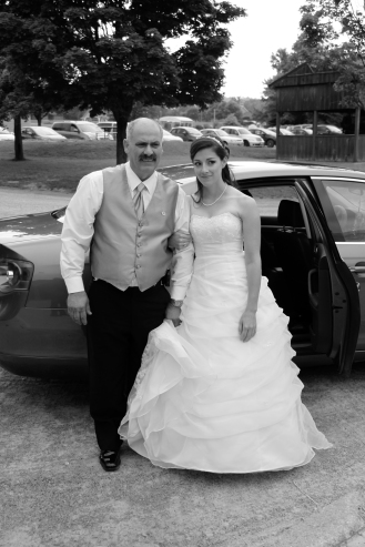 Bride and Daddy