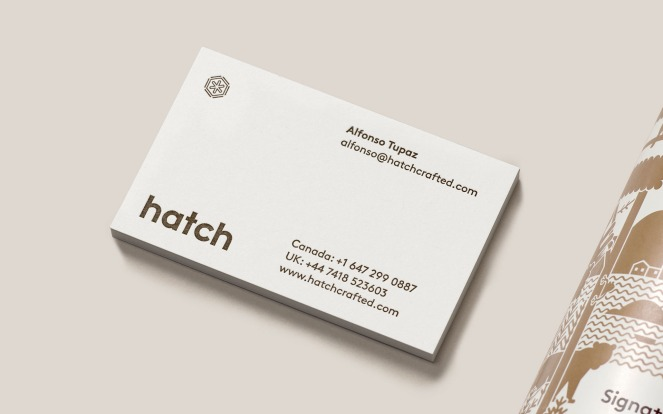 Hatch Business card